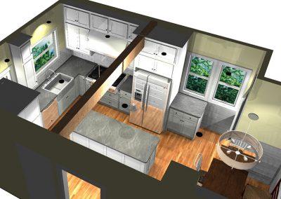 Farmhouse Industrial Kitchen